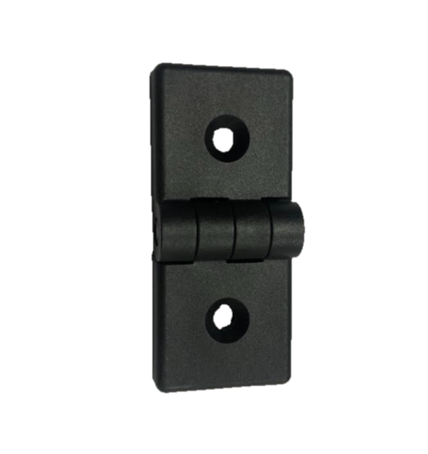 90mm x 40mm plastic hinge with buttons 12252-PK-MB