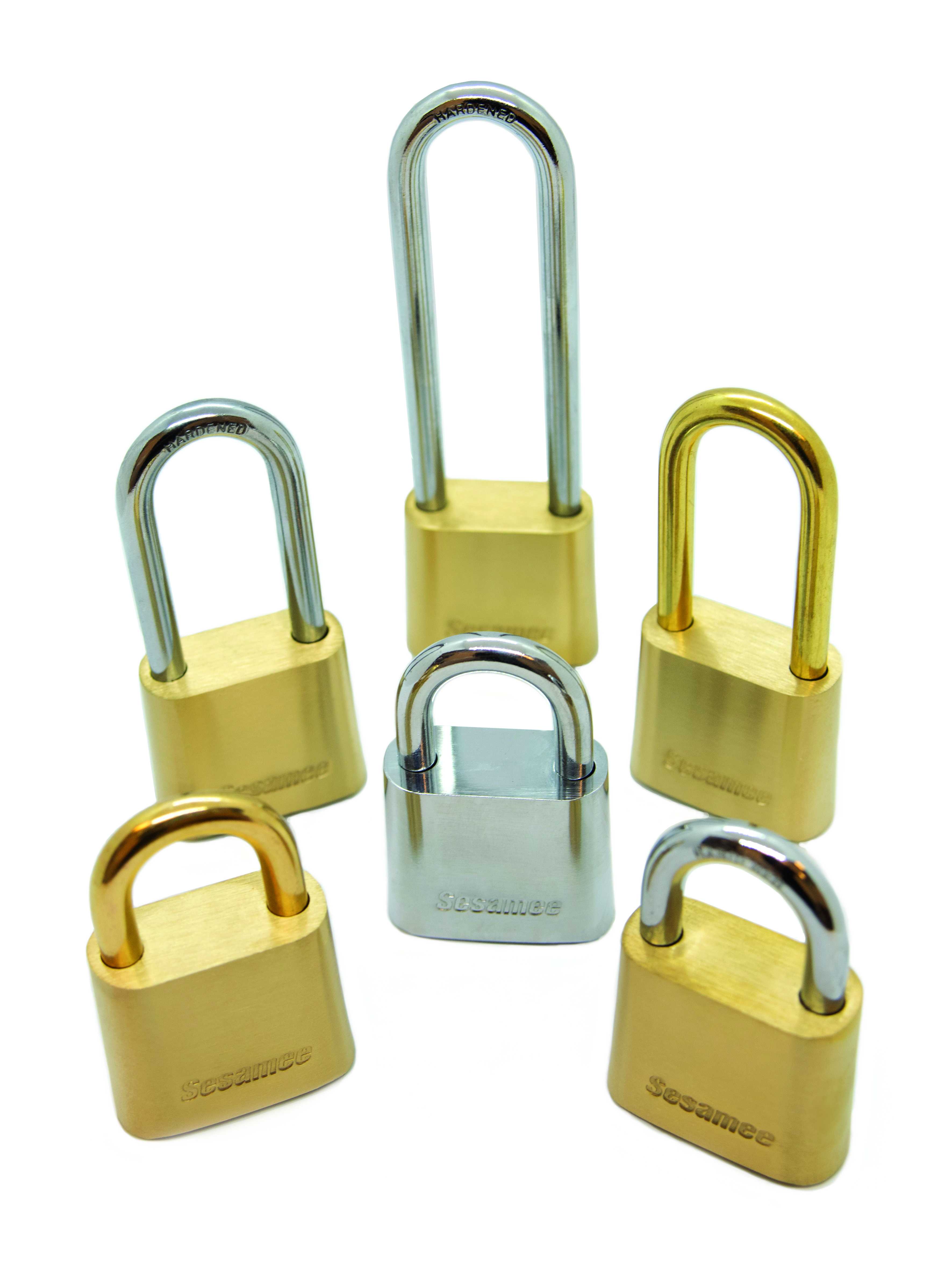 Sesamee 436/437 Series All Brass Dial Padlock K0436