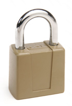 66 Series Hardened Steel Keyed Padlock with Chrome Plated Shackle 90