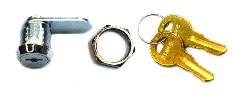 63300 Series High Security, Drill Resistant Cam Lock 63301