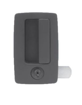 Key-Locking Recessed Access Handle - ECL-630-KP8-MB